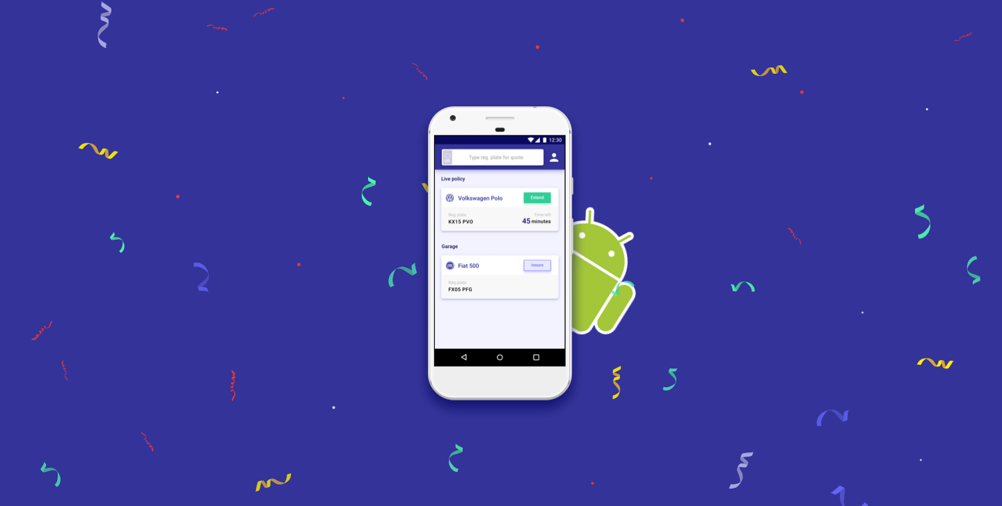 Big news from Cuvva HQ: our Android app is (finally) here! Here's a first look.